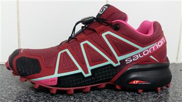 Salomon Maroon SpeedCross 4
