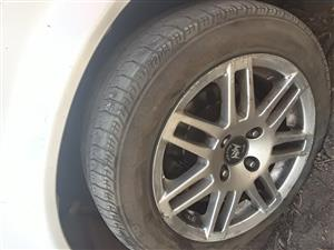 "Corola 14"" Rims and Tyres"