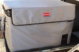 Snomaster 80l stainless steel 220V/12V camping fridge