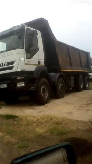 Iveco Twinsteer 16 Cube Tipper