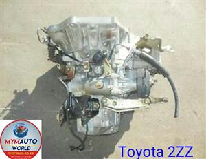 Imported used TOYOTA 2ZZ AUTOMATIC gearbox Complete
