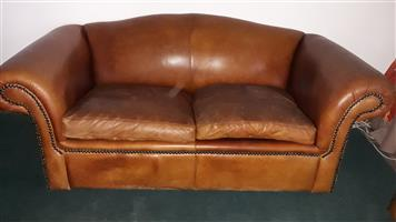 Leather couches