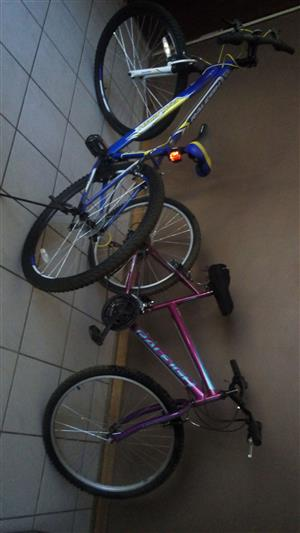 2 x Bicycles