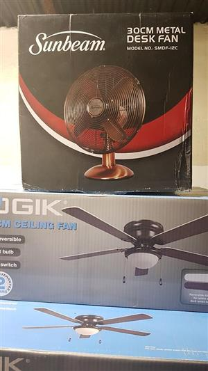 Sunbeam desk fan for sale