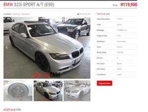 2009 BMW 3 Series 323i M Sport