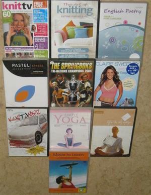 non fiction DVD's for sale