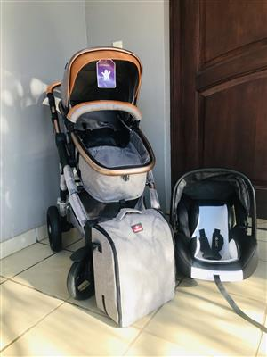 Baby Travel System - Pram with Car Seat