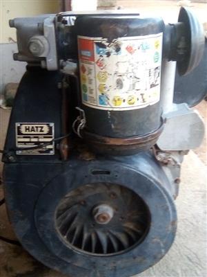HATZ Diesel Engine, Model: 2G40, Horse Power: 14.8KW