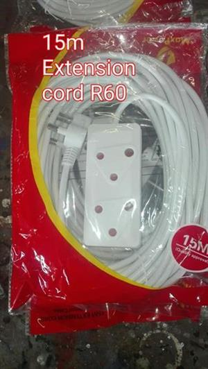 15m extension cord for sale