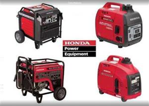 Honda EU Series Generators Portable Diesel  & Petrol ALL Sizes