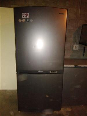 Samsung Freezer & Fridge with book