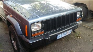WANTED JEEP L/F BUMPER CORNER