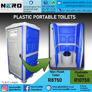 Plastic Portable Toilets.