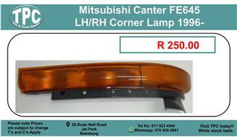 Mitsubishi Canter Fe645 LH/RH corner Lamp 1996- For Sale.