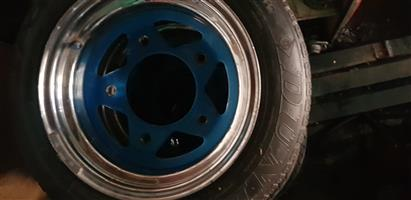 Rims and tyres for Beetle / Beach buggy