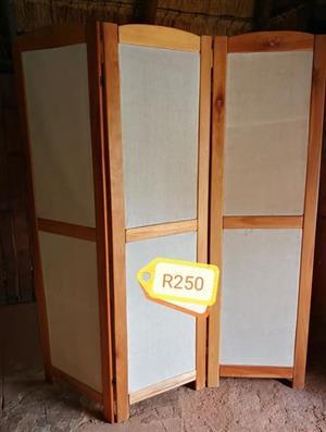 Wooden room divider for sale