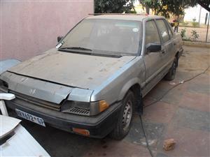 1985 Honda Ballade 1.5 Comfort