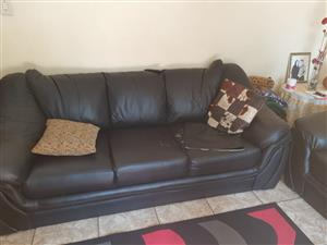 Lounge set for sale. It consists of a 3 a 2 and a 1 seater