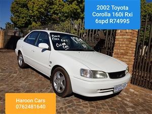 toyota corolla rxi in toyota in south africa junk mail2002 toyota corolla 160i sprinter