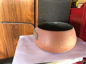 Vintage Stockli Netstal Copper Pot - Swiss Made