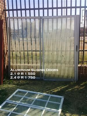 Used Aluminium Sliding Door