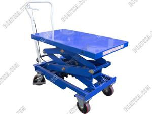 (C)  500KG HYDRAULIC LIFTING TABLE WITH DOUBLE SCISSOR