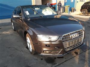 2013 Audi A4 1.8T Attraction Code 2