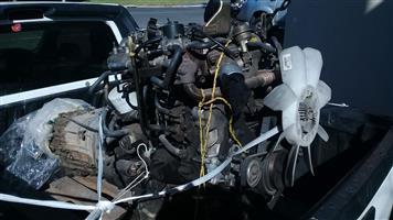 Nissan Navara 2.5dci Yd25 Engine & Gearbox Spares