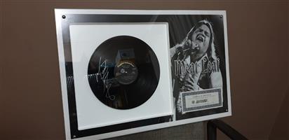Meatloaf Signed LP