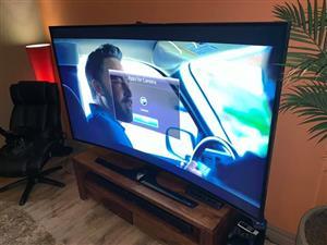 "Samsung 78"" UHD 4k Curved Smart Tv Series 9 HU9000"