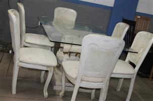 7 piece dining room suite S032313A #Rosettenvillepawnshop