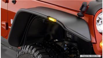 Jeep Wrangler JK fender flares