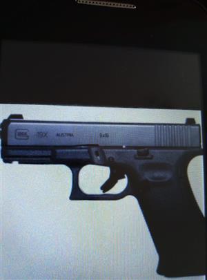 Glock 19x generation5 9mm parabellum