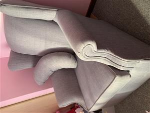 Custom made nursery/feeding chair