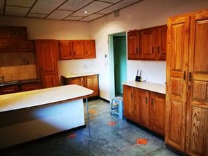 Used Knotty Pine Kitchen Units