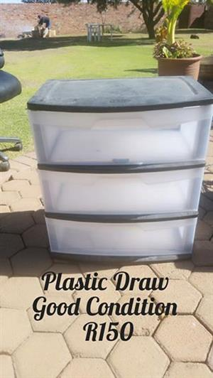 Plastic drawer for sale