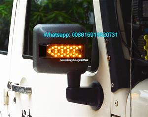 Hummer H2 Car Led Turn Signal Side Mirror Amber Rear View Turn Signal Lights