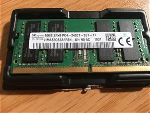 1 x SK hynix 16gb 2Rx8 PC4 Ram for Laptop
