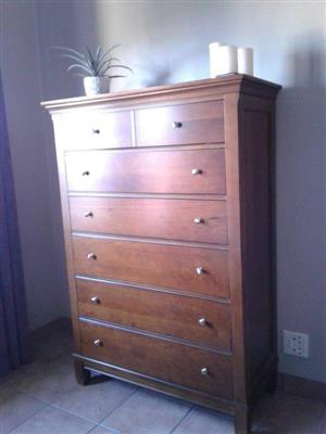 TALLBOY/DRAWER CABINET. IMPORTED Thomasville Tallboy. Display model