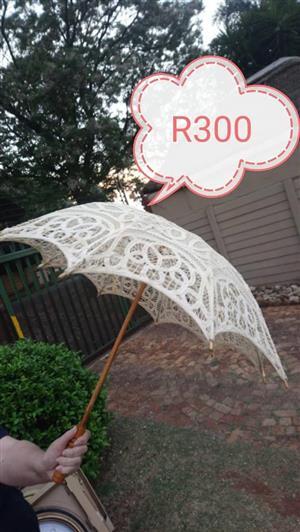 White umbrella for sale