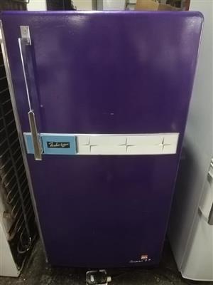 Vintage purple fridge for sale