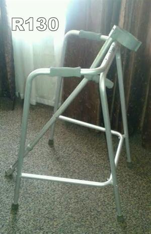 Walking Frame a lightweight aluminium walking frame with a wide base for maximum stability.
