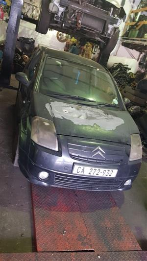 Citroen C2 1.4 8v. VTR - Striping for Parts – from 2004 up to 2007