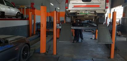 Vehicle lifts 4000kg