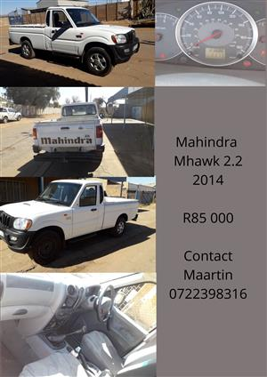 2014 Mahindra Pik Up single cab PICK UP 2.2 mHAWK S4 P/U S/C