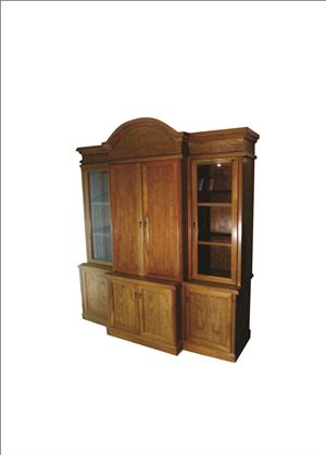 Cherry wood Display Cabinet