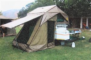 Venter Bushbaby trailer with Echo Tent - R34000