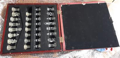 ANTIQUE CHESS SET FOR SALE