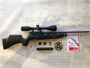 Air Rifle As new Weirauch HW110 PCP