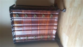 Antique 5 drawer chest